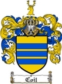 Thumbnail Coil Family Crest  Coil Coat of Arms
