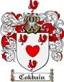 Thumbnail Cokbain Family Crest  Cokbain Coat of Arms