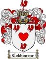 Thumbnail Cokbourne Family Crest  Cokbourne Coat of Arms
