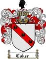 Thumbnail Coker Family Crest  Coker Coat of Arms