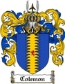 Thumbnail Colemon Family Crest Colemon Coat of Arms Digital Download