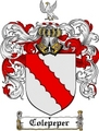 Thumbnail Colepeper Family Crest  Colepeper Coat of Arms