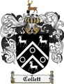 Thumbnail Collett Family Crest Collett Coat of Arms Digital Download