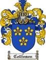 Thumbnail Collinson Family Crest Collinson Coat of Arms Digital Download