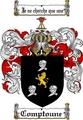 Thumbnail Comptoune Family Crest  Comptoune Coat of Arms