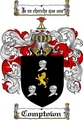 Thumbnail Comptown Family Crest  Comptown Coat of Arms