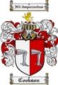 Thumbnail Cookson Family Crest Cookson Coat of Arms Digital Download