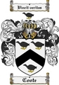 Thumbnail Coote Family Crest Coote Coat of Arms Digital Download