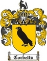 Thumbnail Corbetts Family Crest  Corbetts Coat of Arms