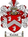 Thumbnail Cordell Family Crest Cordell Coat of Arms Digital Download