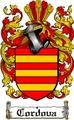 Thumbnail Cordova Family Crest  Cordova Coat of Arms