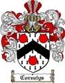 Thumbnail Cornelys Family Crest  Cornelys Coat of Arms