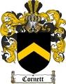 Thumbnail Cornett Family Crest  Cornett Coat of Arms