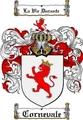Thumbnail Cornevale Family Crest  Cornevale Coat of Arms