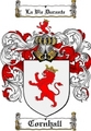Thumbnail Cornhall Family Crest  Cornhall Coat of Arms