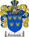 Thumbnail Coronado Family Crest  Coronado Coat of Arms