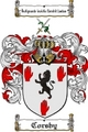 Thumbnail Corsby Family Crest  Corsby Coat of Arms