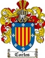 Thumbnail Cortes Family Crest  Cortes Coat of Arms