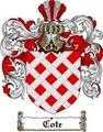 Thumbnail Cote Family Crest  Cote Coat of Arms