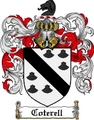 Thumbnail Coterell Family Crest Coterell Coat of Arms Digital Download