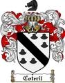 Thumbnail Coteril Family Crest  Coteril Coat of Arms