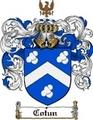 Thumbnail Cotun Family Crest  Cotun Coat of Arms