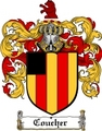 Thumbnail Coucher Family Crest  Coucher Coat of Arms