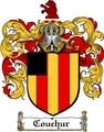 Thumbnail Couchur Family Crest  Couchur Coat of Arms