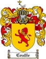 Thumbnail Coullie Family Crest Coullie Coat of Arms Digital Download