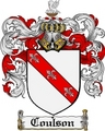 Thumbnail Coulson Family Crest Coulson Coat of Arms Digital Download