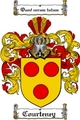 Thumbnail Courteney Family Crest  Courteney Coat of Arms