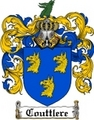 Thumbnail Couttlere Family Crest Couttlere Coat of Arms Digital Download