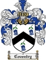 Thumbnail Coventry Family Crest Coventry Coat of Arms Digital Download