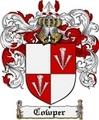 Thumbnail Cowper Family Crest Cowper Coat of Arms Digital Download