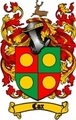 Thumbnail Cox Family Crest / Cox Coat of Arms