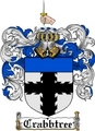 Thumbnail Crabbtree Family Crest  Crabbtree Coat of Arms