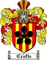 Thumbnail Crafte Family Crest  Crafte Coat of Arms