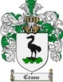 Thumbnail Crane Family Crest Crane Coat of Arms Digital Download