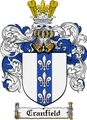 Thumbnail Cranfield Family Crest Cranfield Coat of Arms Digital Download