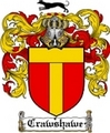 Thumbnail Crawshawe Family Crest  Crawshawe Coat of Arms
