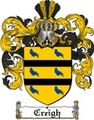 Thumbnail Creigh Family Crest  Creigh Coat of Arms