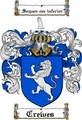 Thumbnail Crewes Family Crest  Crewes Coat of Arms