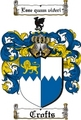 Thumbnail Crofts Family Crest  Crofts Coat of Arms