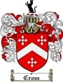 Thumbnail Crom Family Crest  Crom Coat of Arms