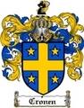 Thumbnail Cronen Family Crest  Cronen Coat of Arms
