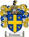 Thumbnail Cronnan Family Crest  Cronnan Coat of Arms