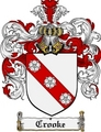 Thumbnail Crooke Family Crest Crooke Coat of Arms Digital Download