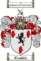 Thumbnail Crosbie Family Crest  Crosbie Coat of Arms