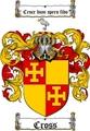 Thumbnail Cross Family Crest / Cross Coat of Arms