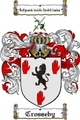 Thumbnail Crosseby Family Crest  Crosseby Coat of Arms